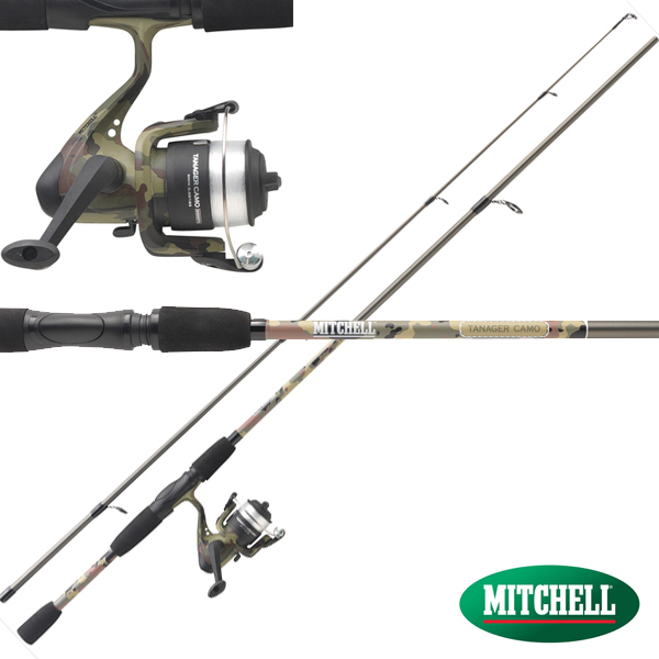 Mitchell Tanager Camo Spin Combo 7-20g 2,10m