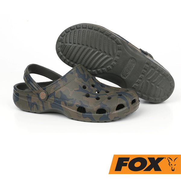 Fox Chunk Camo Clogs 41