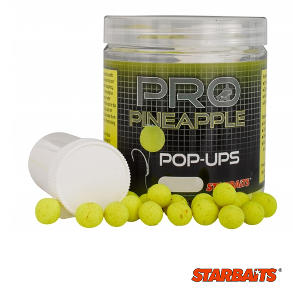 Starbaits Probiotic Pineapple Pop Up 20mm 60g