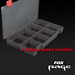 Stack N`Store Lure Box 8 Comp. Shallow