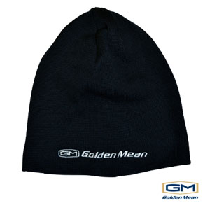 Golden Mean Knit Cap #Black