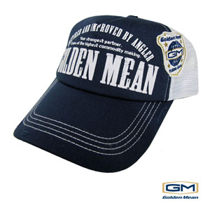 Golden Mean Mesh Cap Navy/White