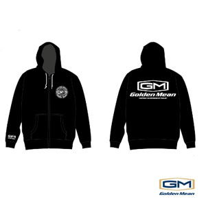 Golden Mean Parka Black #L Sonderpreis