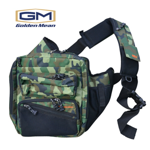 Golden Mean Shoulder Bag #Green Camo