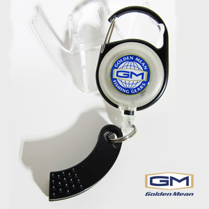 GM Pin on Reel x Line Cutter #Black