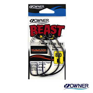 Owner Twist Lock Beast #8/0