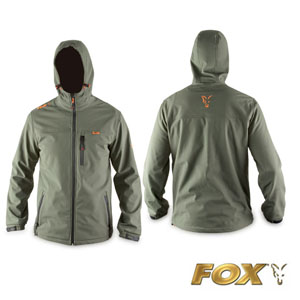 Hooded Green soft Shell Large